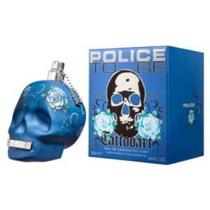 Police To Be Tattooart for Man EDT