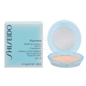 Shiseido Pureness Matifying Compact foundation light ivory