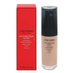 Shiseido Synchro Skin Glow Foundation i farven Rose