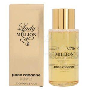 paco rabanne lady million shower